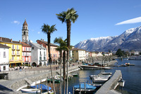 Ascona in the Ticino - Switzerland's southernmost region