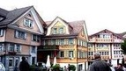 Appenzell, Switzerland - town rich on rural customs and traditions