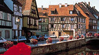 Colmar, picturesque town in the Alsace, France near Basel
