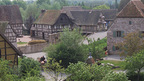 The open-air Ecomuseum Farmer-Village located in the Alsace, France near Basel
