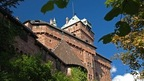 The magnificent Haut Koenigsbourg Castle located in the Alsace, France near Basel