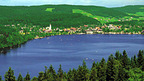 Titisee - lake and village in the Black Forest, Germany near Basel