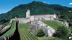 Bellinzona, the capital of the Ticino with its castles, a UNESCO World Heritage Site