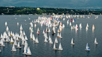 The Bol d'Or on Lake Geneva, Switzerland - one of the great classics of the international sailing regattas