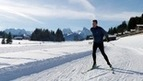 Cross-Country Skiing in the Gstaad-Saanenland region, Berner Oberland, Switzerland