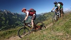 Mountain Biking in the Gstaad-Saanenland fregion, Bernese Oberland, Switzerland