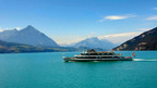 Cruise on Lake Thun, Berner Oberland, Switzerland