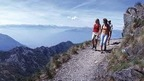 Huge hiking network of well marked trails in the greater Lugano region, Ticino - Switzerland