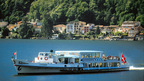 Cruises and excursions on Lake Lugano in the Ticino region, Switzerland
