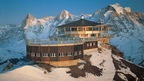 Schilthorn - Piz Gloria with the revolving restaurant for a spectacular view of the Swiss Alps