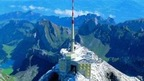 The Saentis near St. Gallen - the highest peak of the Appenzell Alps