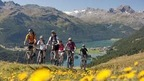 St. Moritz and the Engadine offes a great web of routes for bikers of all levels