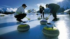 Curling is very popular in St. Moritz and the Engadine Valley