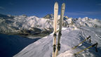 Skiing in St. Moritz and the Engadine, Switzerland