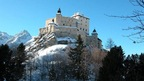 Tarasp Castle near St. Moritz, Switzerland