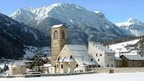 Muestair near St. Moritz - a well preserved hamlet and monastery near the Italian border
