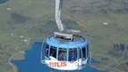 The Titlis Rotair, the revolving Cable Car to the Top of Mt. Titlis