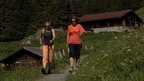 Nordic Walking on well-marked trails in the Wengen - Jungfrau region