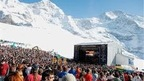 SnowpenAir - a traditional open-air concert in the Berner Oberland on the Kleine Scheidegg above Wengen, Switzerland
