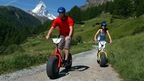 Dirtscooter - a fun ride from the Schwarzsee Paradise down to Zermatt