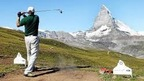 The Eagle Cup Alpine Golf Tourmament at the Gornergrat above Zermatt with fantastic views of the Matterhorn