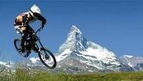 Mountain Biking from the Gornergrat down to Zermatt