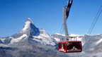 Cable Car to the Rothorn Paradise offering best views of the famous Matterhorn