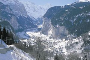 Lauterbrunnen - Bernese Oberland - Switzerland; the spectacular Lauterbrunnen Valley