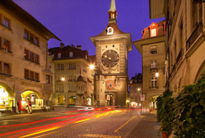 The historic Clock Tower in Bern / Berne, Switzerland