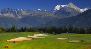 Crans-Montana a popular destination for active people - known as a golf mecca during summer and as a skier's paradise during winter