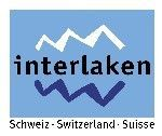 Interlaken - famous resort situated between Lake Thun and Lake Brienz in the Bernese Oberland, Switzerland