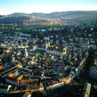 St. Gallen, Switzerland with its Abbey, a UNESCO Worlde Heritage Site