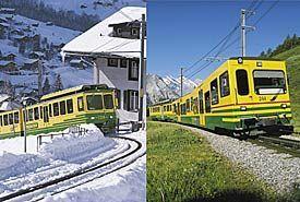 Wengernalp Mountain Railway