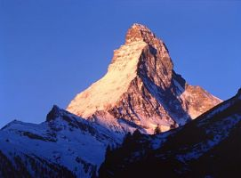 The world-famous Matterhorn (4,478 m / 14,688 ft)