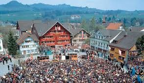 Landsgemeinde at Appenzell - the Appenzellerland is very traditional Switzerland