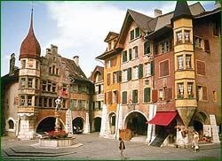 Old Town of Biel - Bienne, Switzerland's largest bilingual city