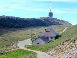 Mt. Chasseral of the Bernese Jura offers great views over the lakes of Biel, Murten and Neuchatel, and numerous outdoor activities during summer and winter