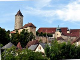 The Castle of Porrentruy, Canton Jura - Switzerland