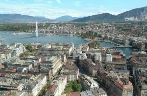 Geneva, Switzerland -  the world's smallest metropolis and Capital of Peace