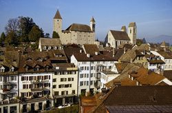 Rapperswil - charming city offering numerous attractions for families with children on the Lake Zurich riviera