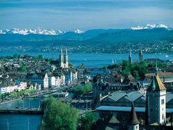 Zurich, the largest city of Switzerland