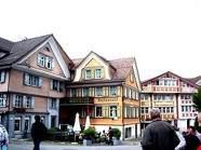 The picturesque Old Town of Appenzell in Eastern Switzerland