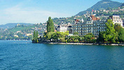 The 4-star Hotel Eden au Lac in Montreux, Switzerland