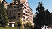 The 4-star Hotel La Margna in St. Moritz Dorf, Switzerland