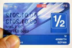 how to buy half fare switzerland