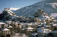 The Valais - Sion-Sitten, the bilingual capital with its two castles, the Tourbillon Castle and the Valere Castle