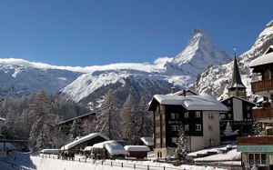 The Valais - Zermatt at the foot of the Matterhorn, a world-class tourism destination, but still an authentic Swiss mountain village